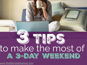 Be productive in your business and have work life balance with these tips.