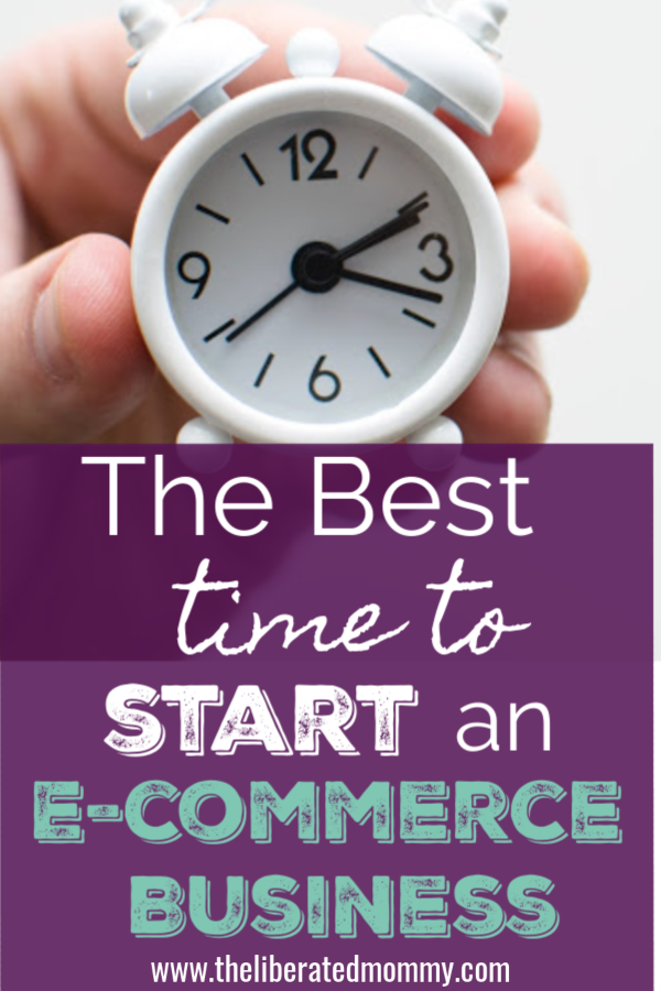 Besttime to start an ecommerce business