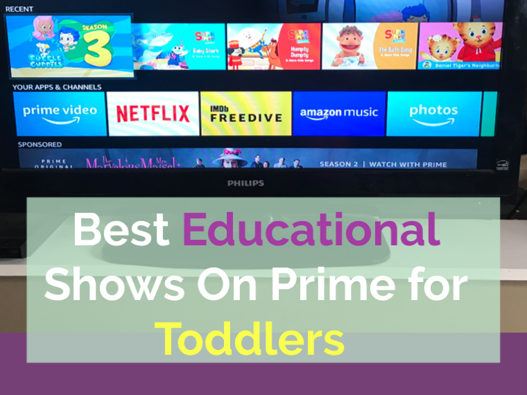 More than 10 educational shows you get free on Amazon Prime that are perfect for toddlers.