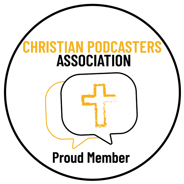 Christian podcasters association member badge