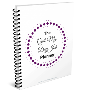 quit your day job planner mockup