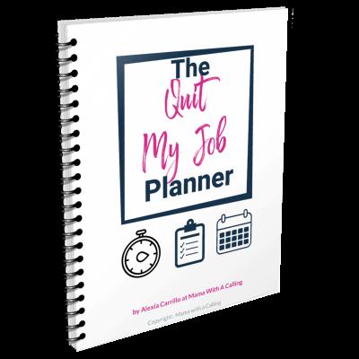 quit your job planner